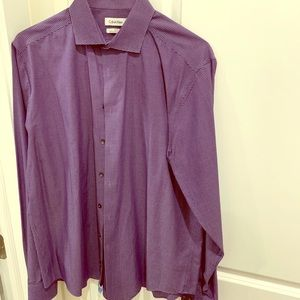 Purple shirt Calvin Klein